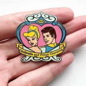 Vintage 1950 Disney Cinderella collectible pin